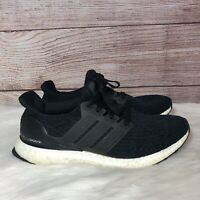 Adidas Ultra Boost 3.0 Core Black BA8842 Men's Size 9 US Running Shoes