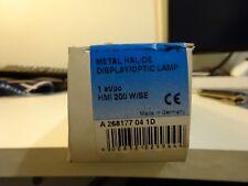 OSRAM Metal Halide display/optic Lamp  1st/po HMI 200W/SE GZY9.5