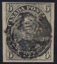 Canada 1855 Pence Prince Albert 6d slate grey #5 used