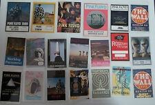 PINK FLOYD Collection of TWENTY Laminated Backstage Tour Passes (x20)