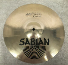 "Sabian AAX 13"" Studio Crash cymbal. 536 grams. Excellent used. No issues."