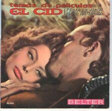 EL CID / KING OF KINGS EP Spain 1961 CHARLTON HESTON SOPHIA LOREN