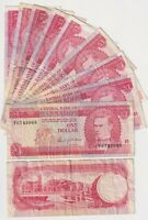 BARBADOS $1 (1973) - P-29a  - Circulated Bank Notes