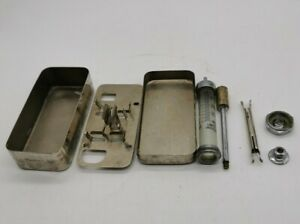 Antique RECORD Hypodermic Reusable Syringe + 7 needles