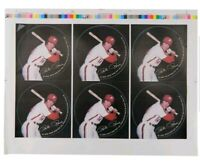 1979 PETE ROSE **RARE** Photo Button Paper Proof Sheet of 6 *HIT KING* FREE SHIP