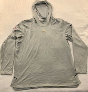 NFL Equipment Los Angeles Chargers NIKE Dri-Fit Team Issue Onfield Hoodie XL