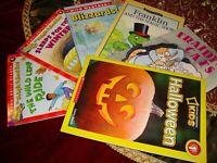 Educational  Beginner Readers Lot 6~Scholastic Series Level 1-2 Homeschool   K10