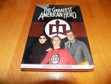 THE GREATEST AMERICAN HERO SEASON THREE 3 TV Comedy Series Classic DVD SET NEW
