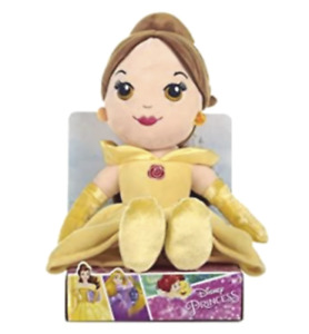 """BRAND NEW IN BOX DISNEY  Plush Belle Princess 10"""" Doll from Beauty & The Beast"""
