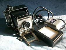 GRAFLEX SPEED GRAPHIC CAMERA & GRAFLARGER & 1951 Ad