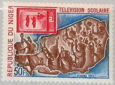 NIGER 1973 401 288 Educational Television Schulfernsehen Kinder Fernsehgerät MNH