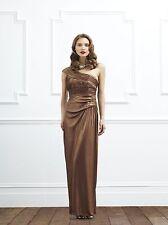 BNWT COAST ELITA BRONZE JERSEY MAXI DRESS SIZE 14 RRP £269 WEDDING CRUISE PROM