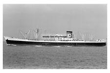 mc3173 - Blue Star Line Cargo Ship - Wellington Star - photo 6x4
