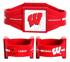 Wisconsin Badgers Power Force Ion Wrist Band (NEW) Bracelet - Large Wristband