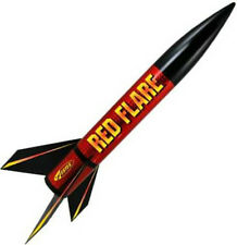 Estes Flying Model Rocket Kit Red Flare 1954