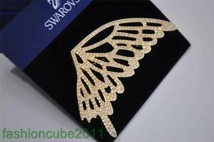 NWT $155 Swarovski Naturally Brooch Butterfly Gold Plated (1081987) now $76.98