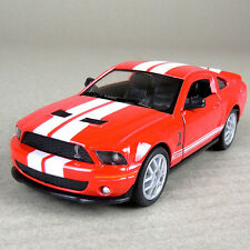 Ford Shelby Cobra GT500 2007 Die-Cast Model Car 1:38 Scale Open Doors Red 12.5cm
