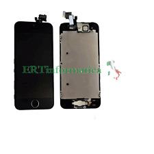 LCD DISPLAY COMPLETO FLAT-HOME SPEAKER SENSORE IPHONE 5S NERO AAA HIGH QUALITY