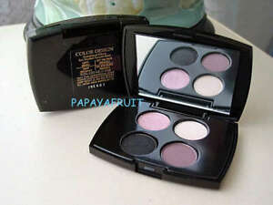 Lancome Color Design Eyeshadow Quad in LATTE, OFF THE RACK, SNAP, THE NEW BLACK