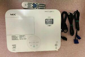 NEC NP-M403H DLP Projector 1920x1080, 3D, 4,000 ANSI Lumens, 100% lamp hours.