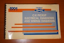 1991 C/K Pickup Electrical Diagnosis and Wiring Diagrams