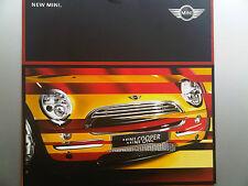 New Mini Brochure 2001 including Cooper & One