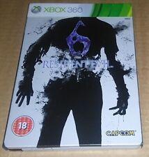 Resident Evil 6 (Microsoft Xbox 360) steelbook