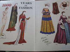 Vtg Brenda Sneathen Matton 1000 YEARS OF FASHION Magazine Paper Doll Uncut