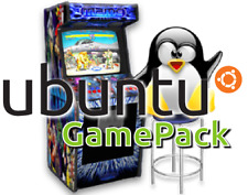 Ubuntu Game Pack USB 22,000 Games Steam DOSbox Windows Lutris Wine CrossOver