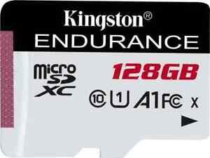 Kingston High Endurance R95/W45 microSDXC 128 GB, UHS-I U1, A1, Class 10