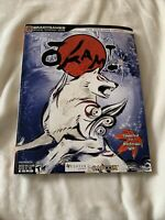 Okami Wii Official Strategy Guide Game Book BradyGames With Rare IGN Cover