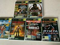 Original Xbox Video Game Demo Lot NBA Street Vol 2 Ninja Gaiden Star Wars Prince