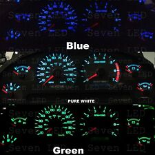 Ford Mustang 99-04 Instrument Cluster Gauge + Climate control Led KIT