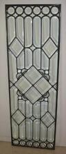 Antique Leaded Beveled Glass Window Circa 1910
