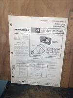 Motorola Table Radio -Service Manual- Model AT23A. Schematics,Parts List.