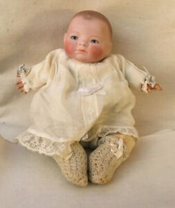 "Antique Doll 1922 Bye-Lo Baby Putnam Bisque 10"" Germany"