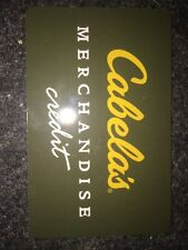 Cabelas Merchandise gift card $358 value