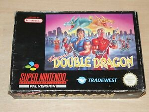 Super Nintendo / SNES - Super Double Dragon - Boxed - Retrogames.co.uk