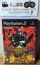 Firefighter F.D.18 - PLAYSTATION 2 - PS2 - PAL ESP. (COMPLETO)