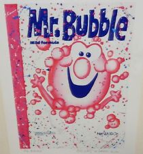 "ROBERT DRIZZLE STUDIOS ""MR BUBBLE"" HAND SIGNED GLOSSY PRINT"