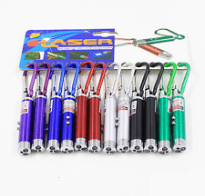 Oops!! 3 in1 Multifunction Mini Laser Light LED Torch Flashlight Keychain Toy