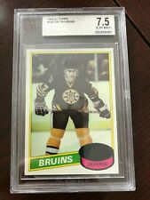 1980-81 Topps #140 Ray Bourque RC BGS 7.5 NM+
