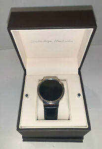 Huawei Android Silver Chrome Stainless Smart Watch. Digital Accountability!