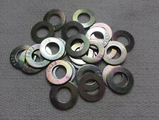 LOT OF 50 - M10 METRIC FLAT WASHERS ZINC PLATED 10.9 STEEL
