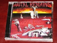 Vital Remains: Let Us Pray CD 2009 Remaster Peaceville UK Records CDVILED121 NEW