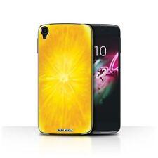 Housses et coques anti-chocs orange pour téléphone mobile et assistant personnel (PDA) Alcatel