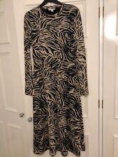 Topshop Dress size 16 zebra