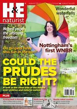 H&e Naturist 3 Issues May June & July 2004 Magazine Nudist Health Efficiency