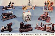 BENSENVILLE IL 1953 Howell Collection of Mechanical Banks @ Plentywood Farm 534
