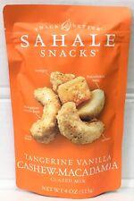 Sahale Snacks Tangerine Vanilla Cashew Macadamia Glazed Mix 4 oz